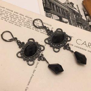 Jewelry - Gun Metal Dangle Earrings